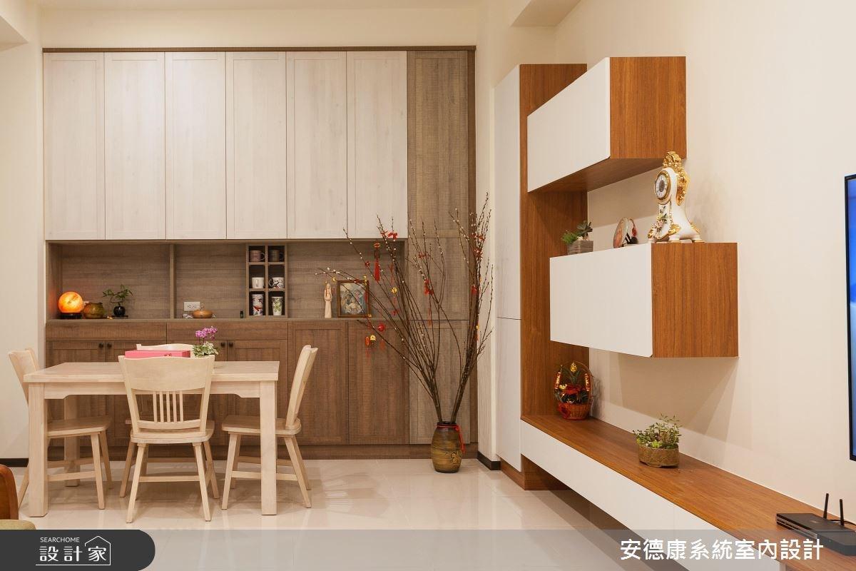 沉浸在自然感的森林系家庭 系統傢俱創造滿點收納宅
