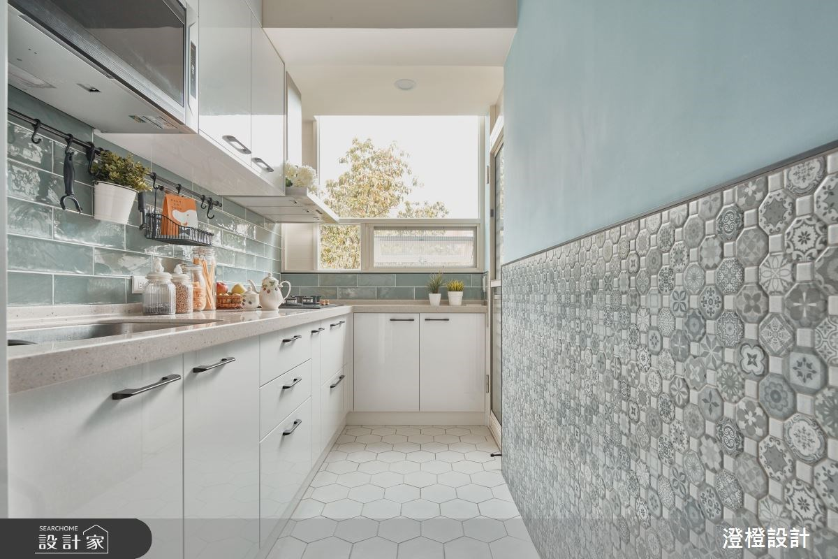 世界級夢幻北歐廚房在我家! 22 坪老屋陽光重生紀實