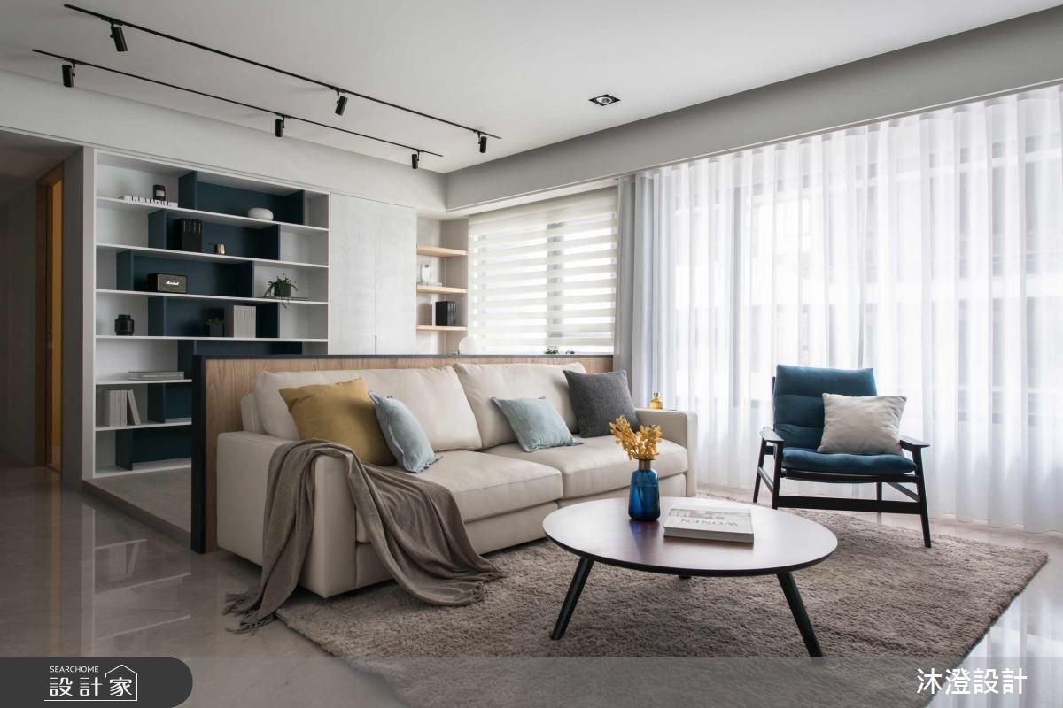 沁涼自在的生活感!感受舒適和自由的 65 坪現代宅