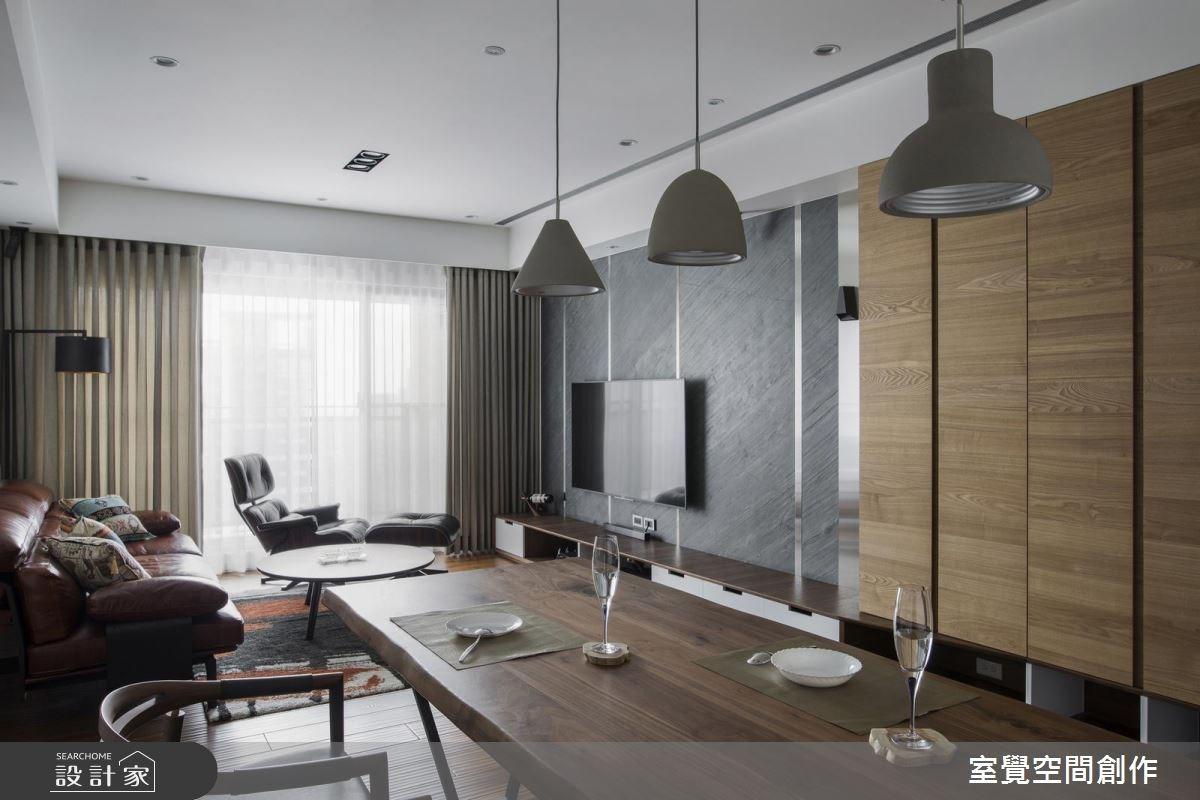 自然感與時尚帥氣兼具! 工程師屋主的 18 坪現代風單身宅