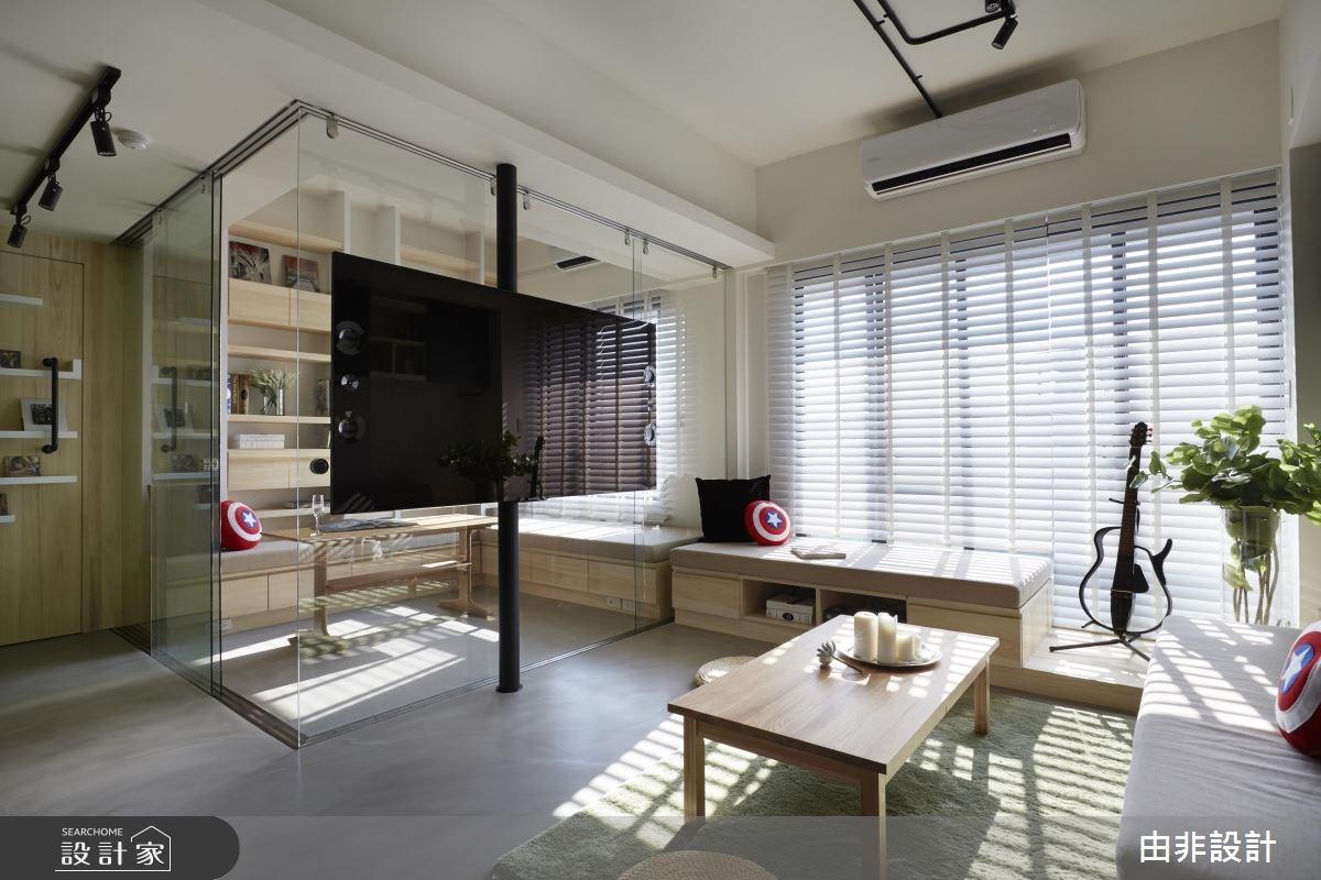 單身必看! 20.2 坪清新陽光 Loft宅 享受一個人的自由生活!