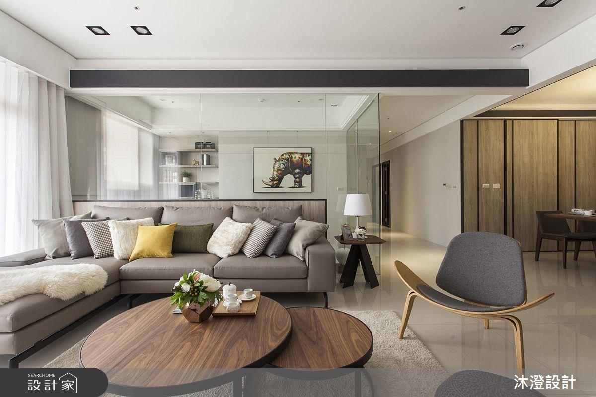 讓好採光陪你過生活! 打造好質感的 4 房 2 廳現代風居宅