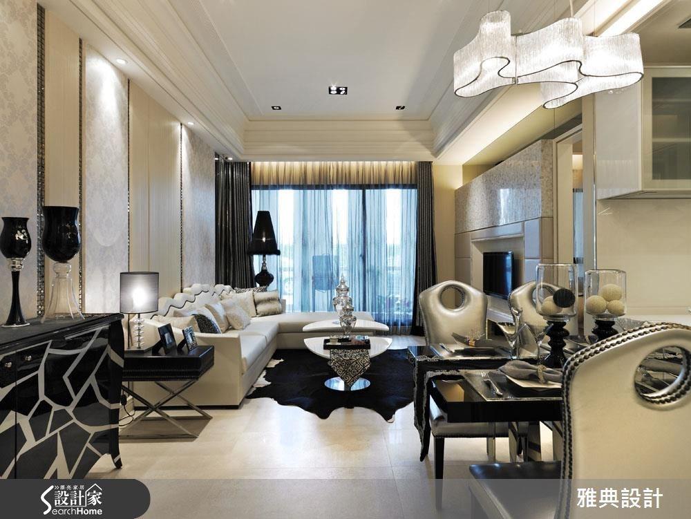 令人憧憬的紐約時尚生活! 35坪輕灑奢華美感