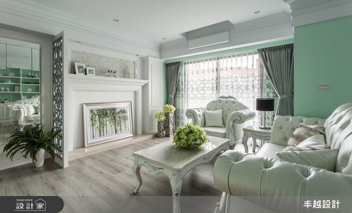 療癒超清新! 浪漫薄荷綠 X 輕古典的夢幻系住宅
