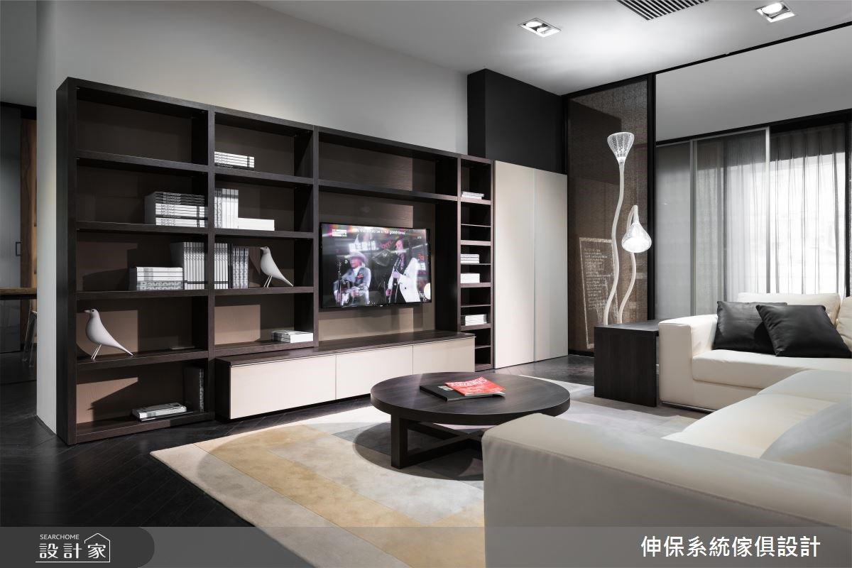 系統家具再造現代風精品視野!井然有序的收納機能表現