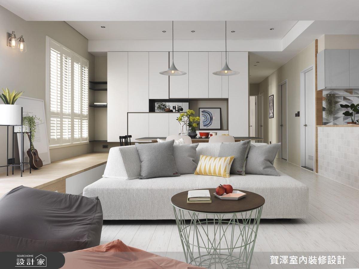 清新純白、木質系!最值得珍藏的 52 坪北歐風新家!