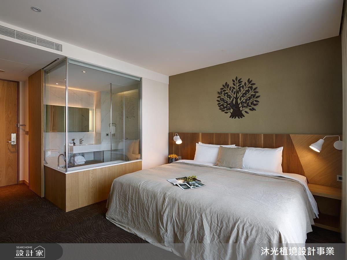 簡約休閒人文風 洋溢森林氣息的微型旅店