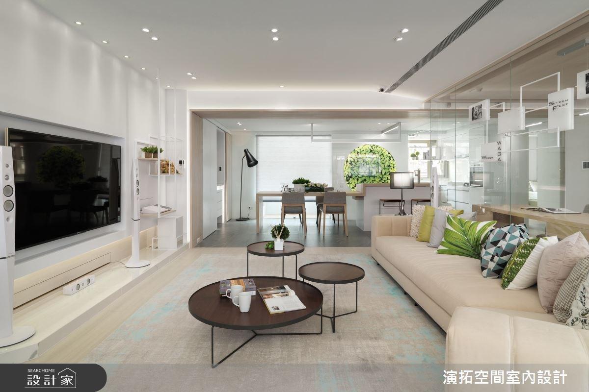 優質設計收服全家人的心! 36 年老房子變身清爽休閒風新家