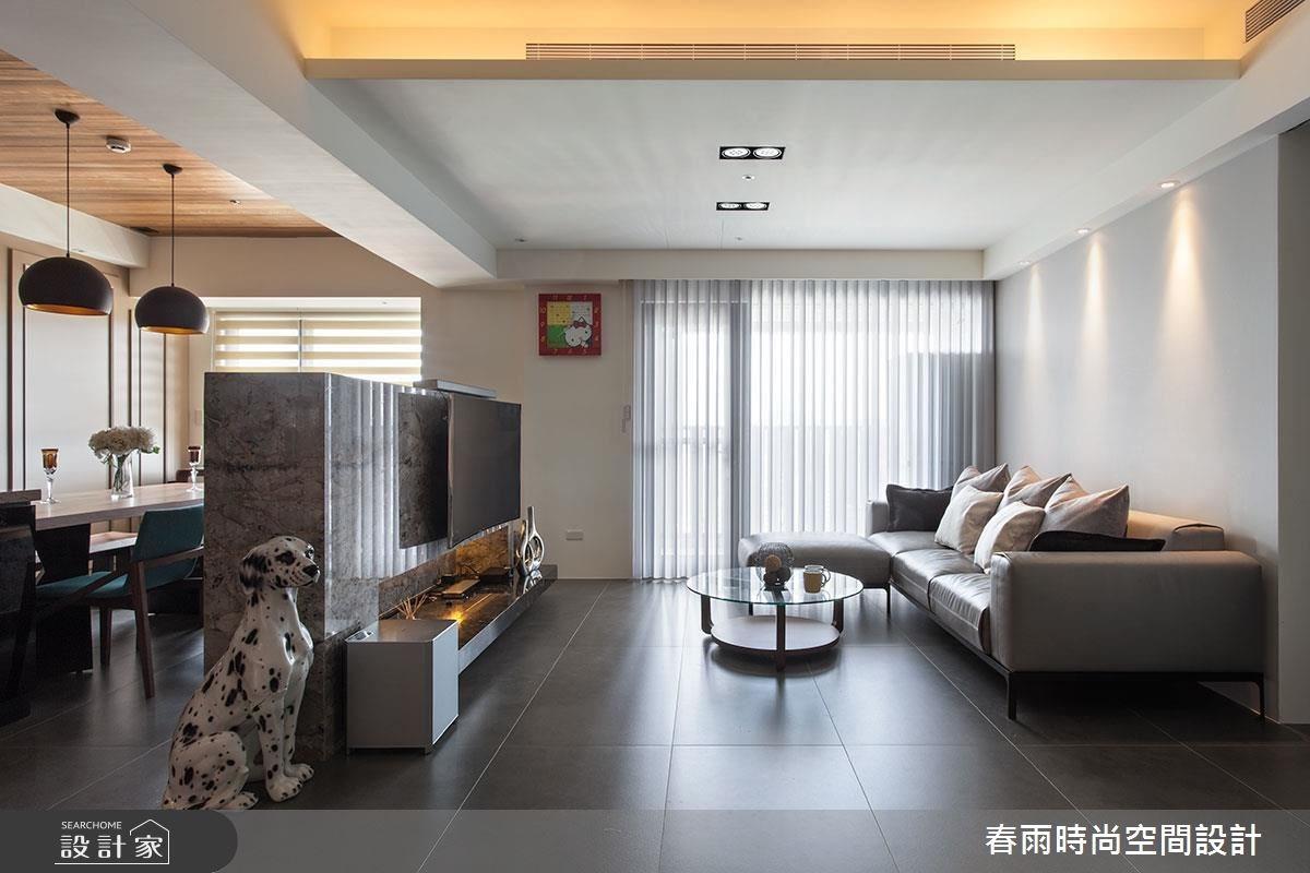沐浴陽光和溫潤木質!在 40 坪現代宅展開優雅好生活
