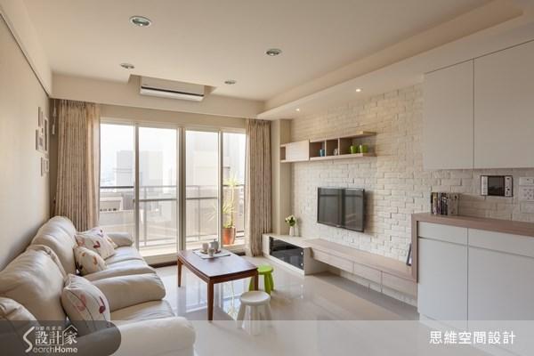 就愛北歐風的家!洋溢幸福氣息的 22 坪暖白色新婚宅