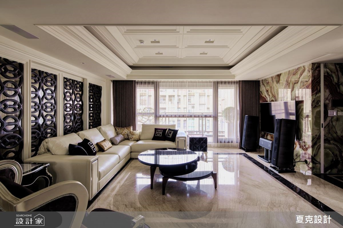 經典不俗 演繹奢華大器視野的古典當代豪宅