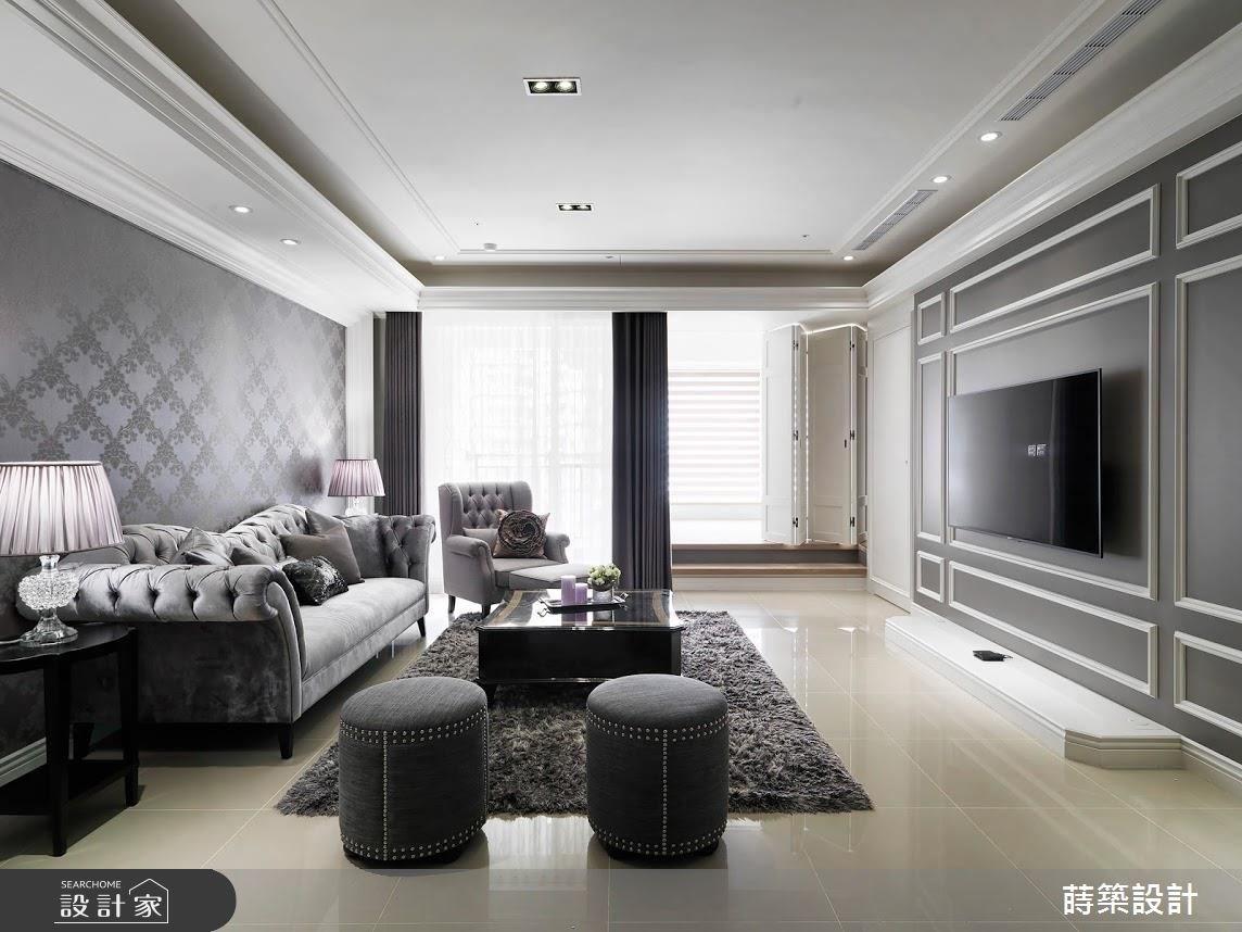 我們一家都是灰色貴族! 35 坪也能打造三代同堂新古典小豪宅