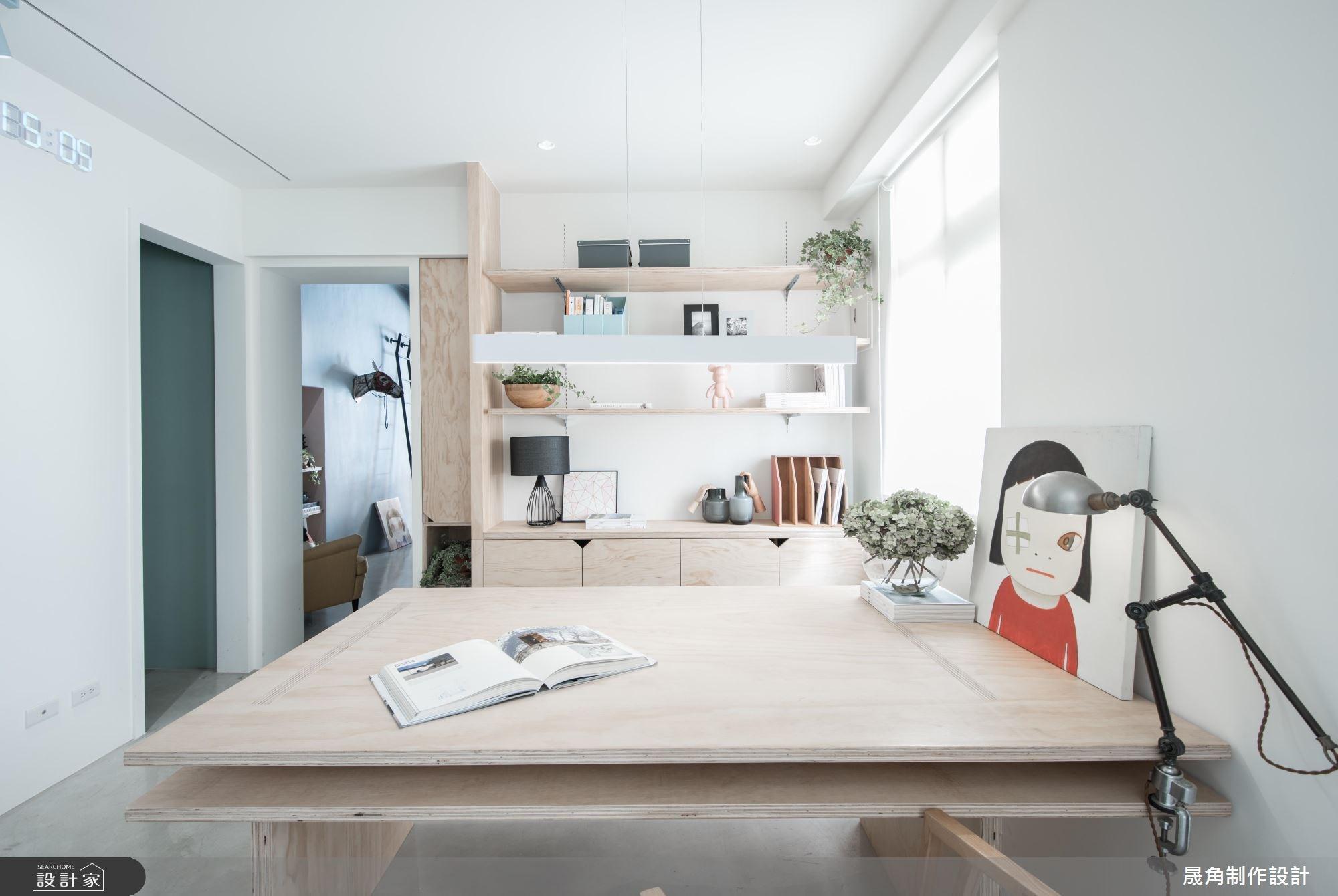 設計好靈感的起點!清新、樂活的 20 坪設計師辦公室