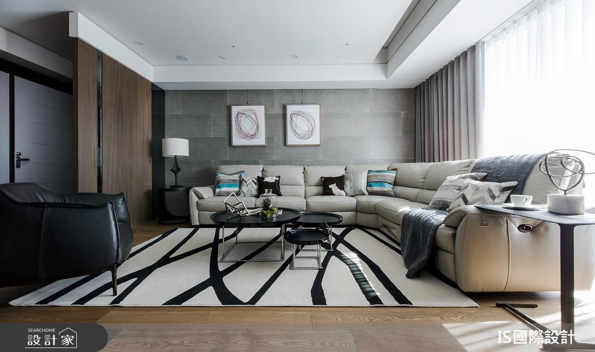 引植自然木、石元素!展露現代風大宅的休閒時尚