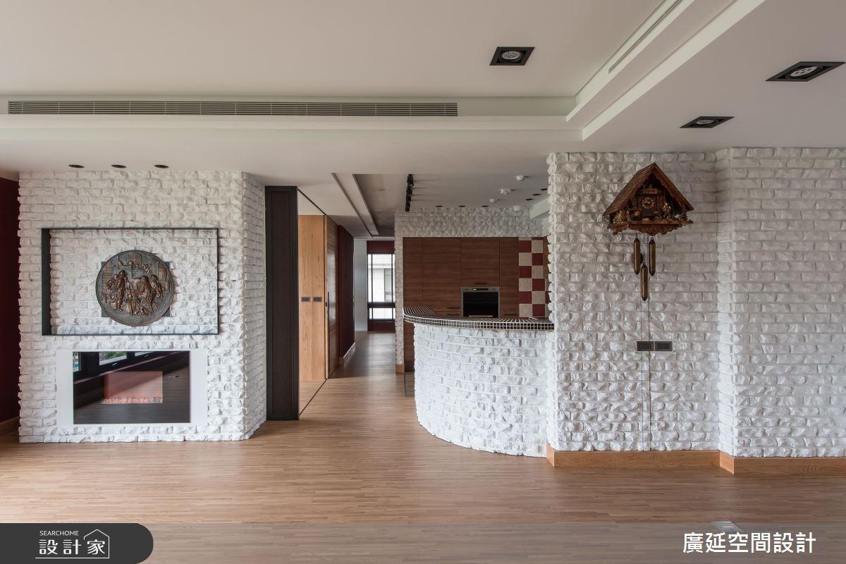 一年四季都在度假! 愛上木頭與文化石打造的暖調空間
