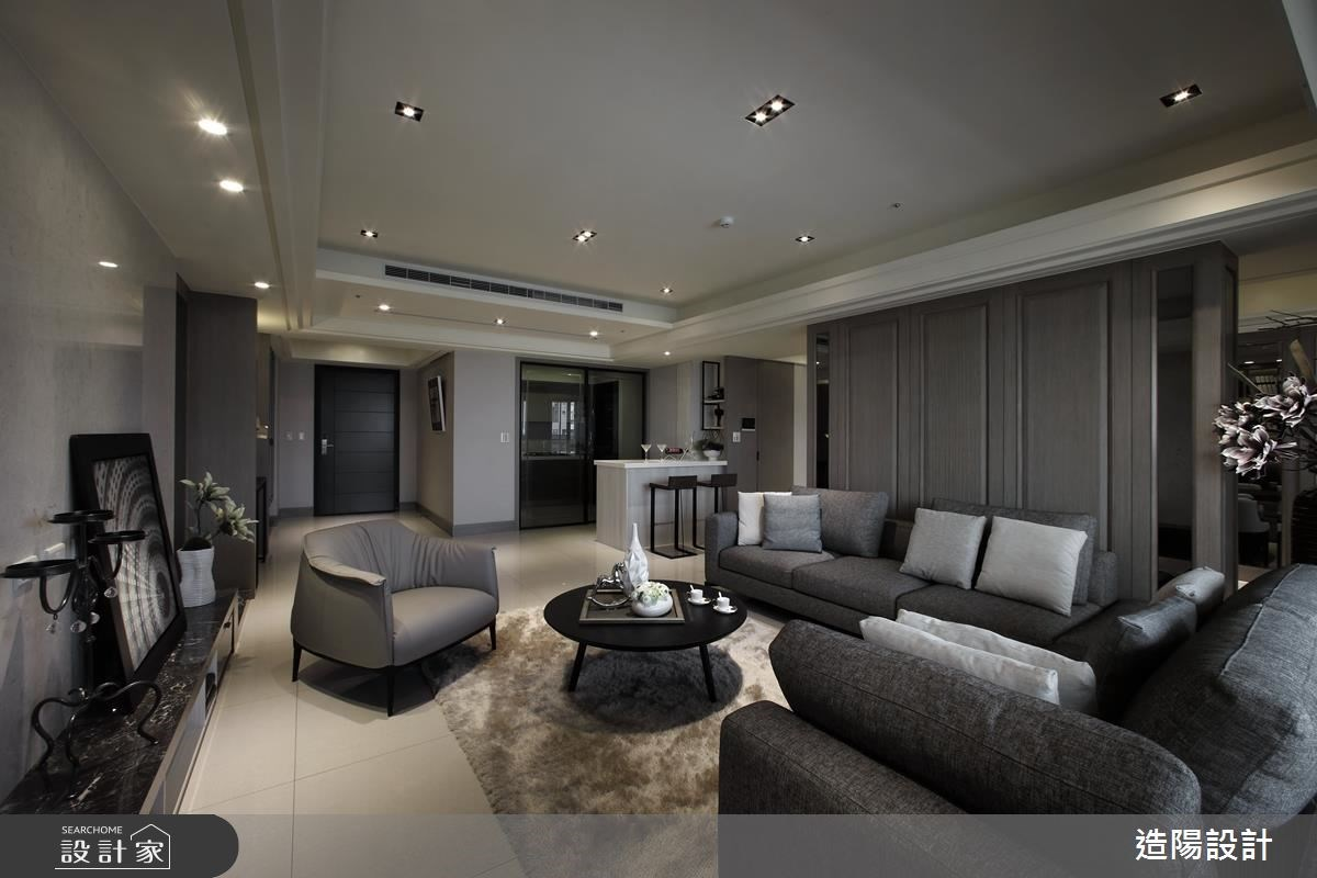 時尚、優美、有格調!精巧細緻的 75 坪現代風大宅