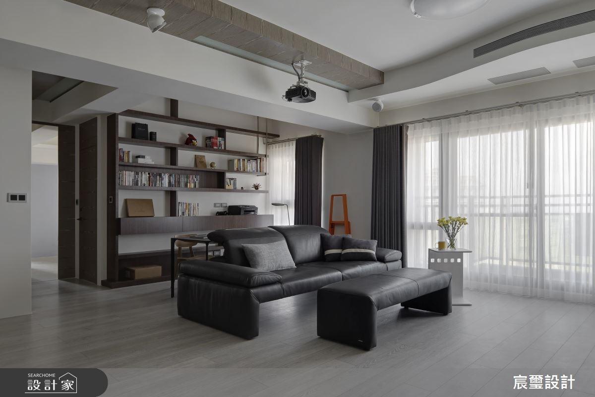 光感、美感、空間感!記錄美好生活的35坪現代風居家