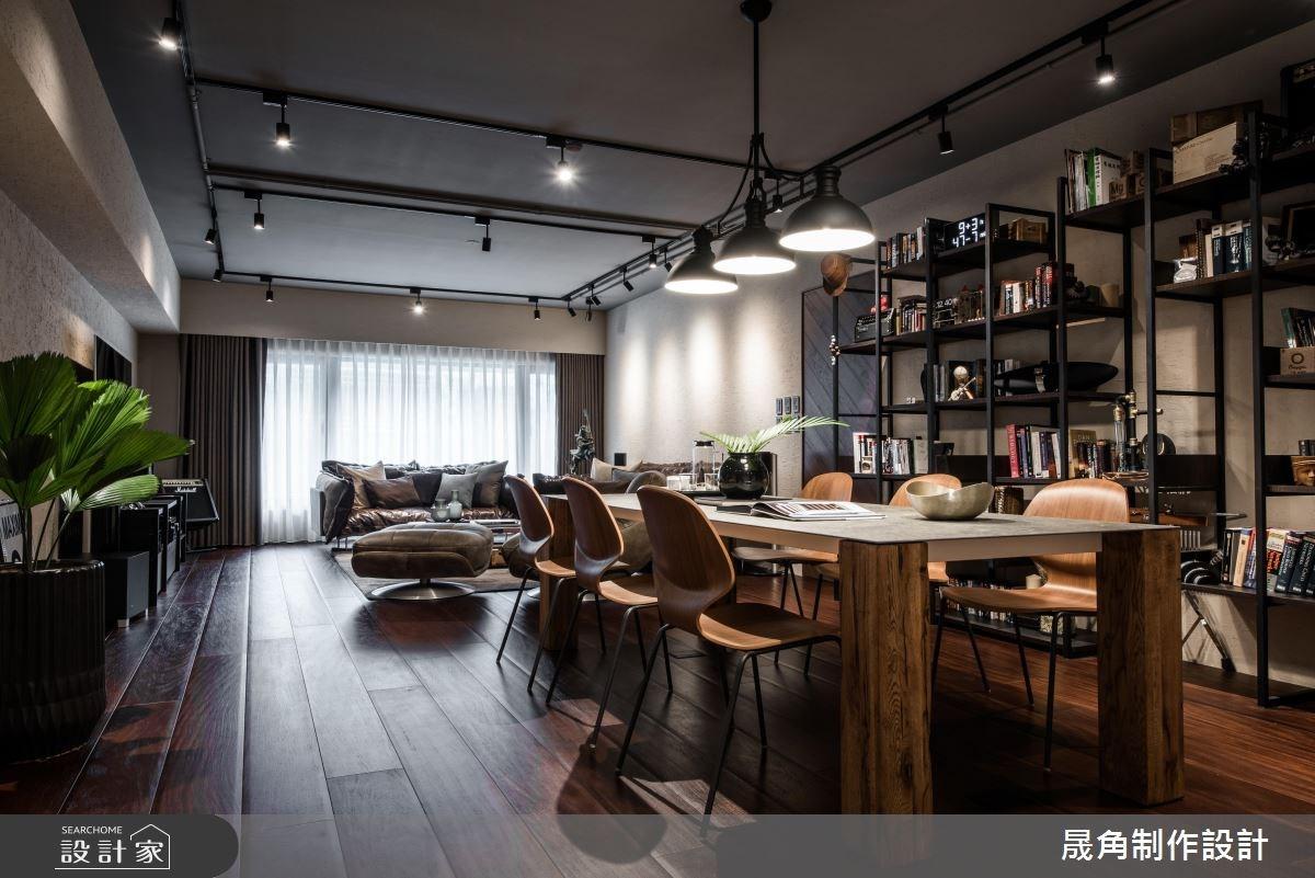 喚起你的音樂魂!機能、美感兼具的 60 坪現代風舒適宅