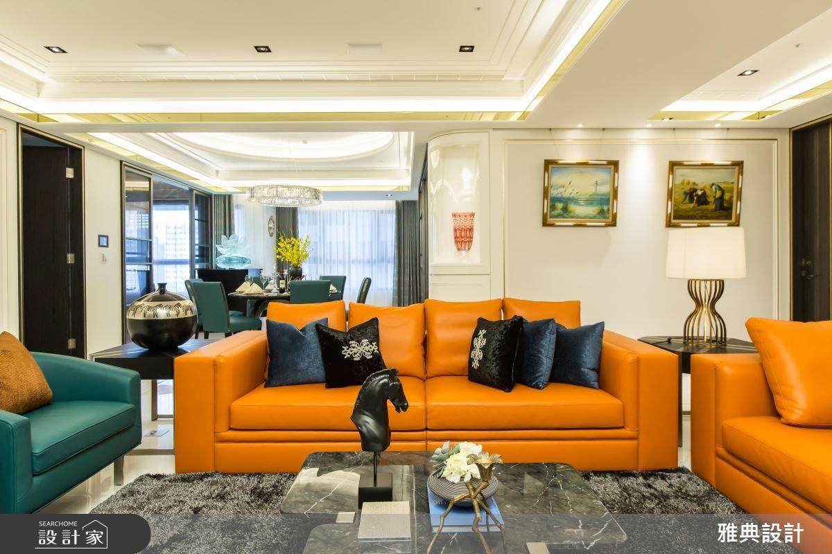 設計師的「鑲嵌微奢學」 打造超完備三代同堂百坪豪邸!