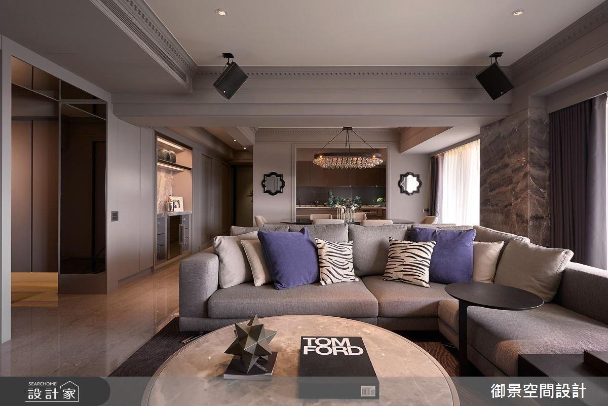 時代風味的老屋 蛻變成新古典風貌的優雅宅邸