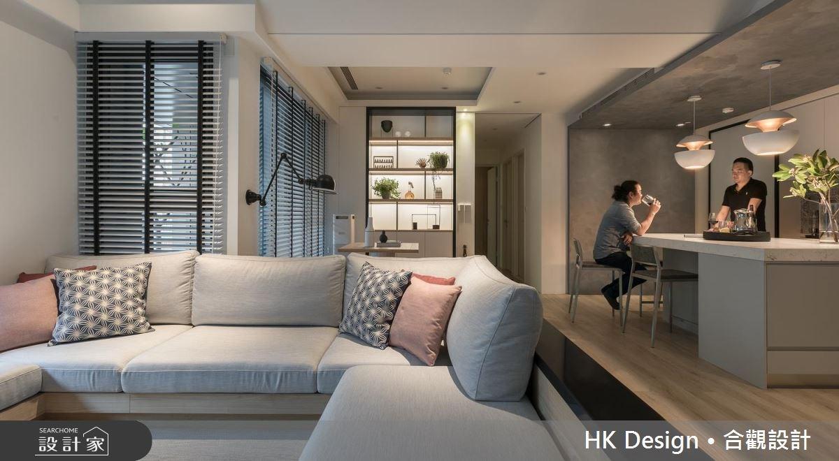 把客廳放大的祕密!用開放式設計體驗宅樂趣