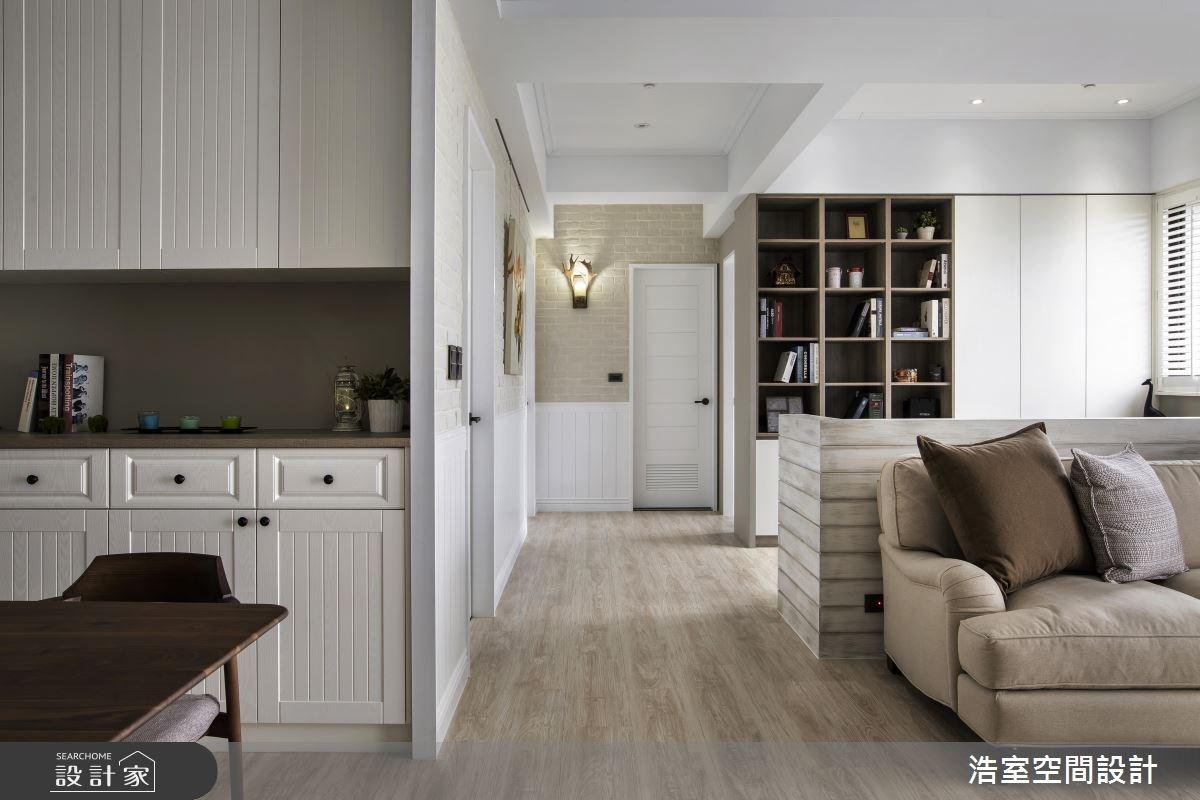 一家 3 口幸福生活提案 都在 60 坪純白美式家 !