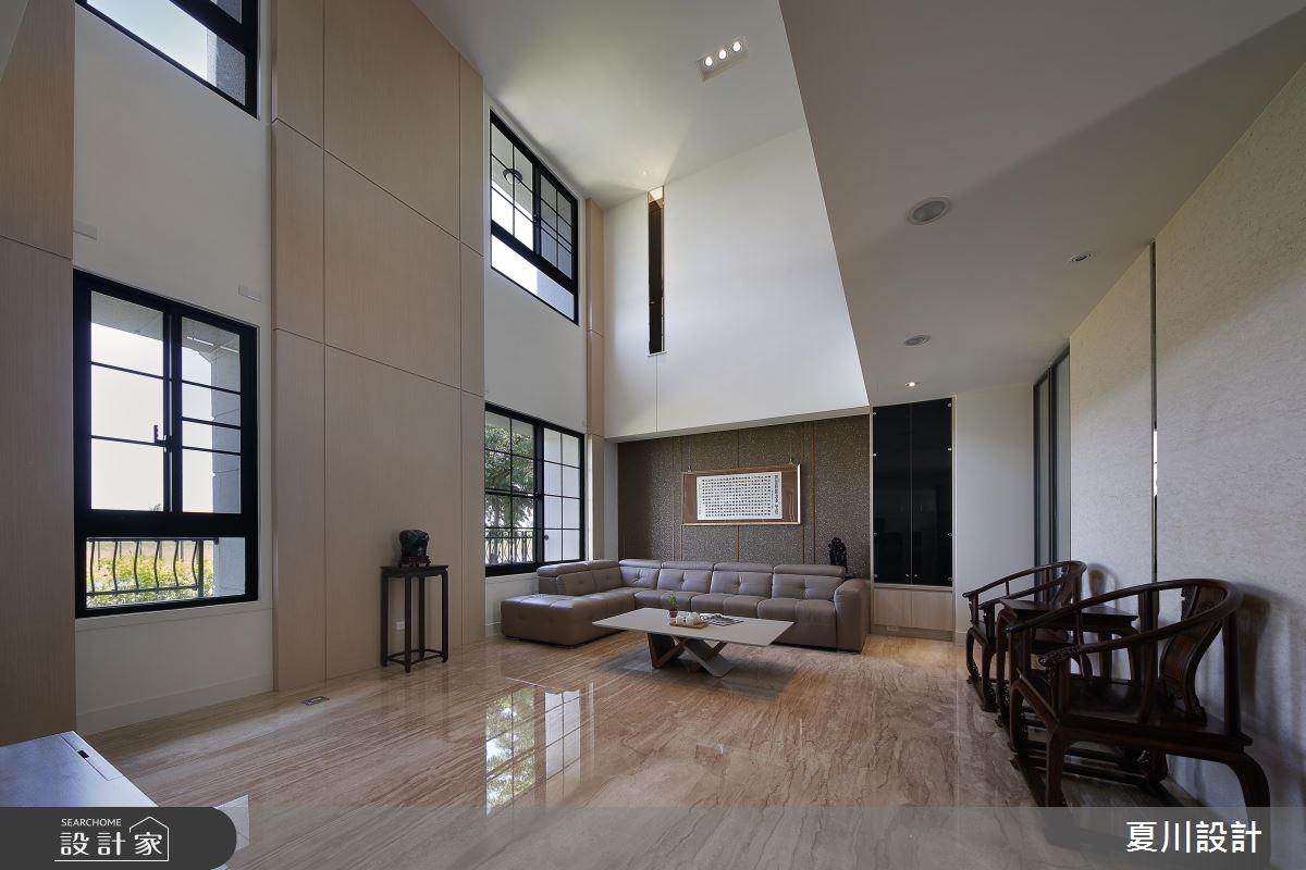 蘊藏層次的住宅體驗!看見百坪別墅裡的現代風張力