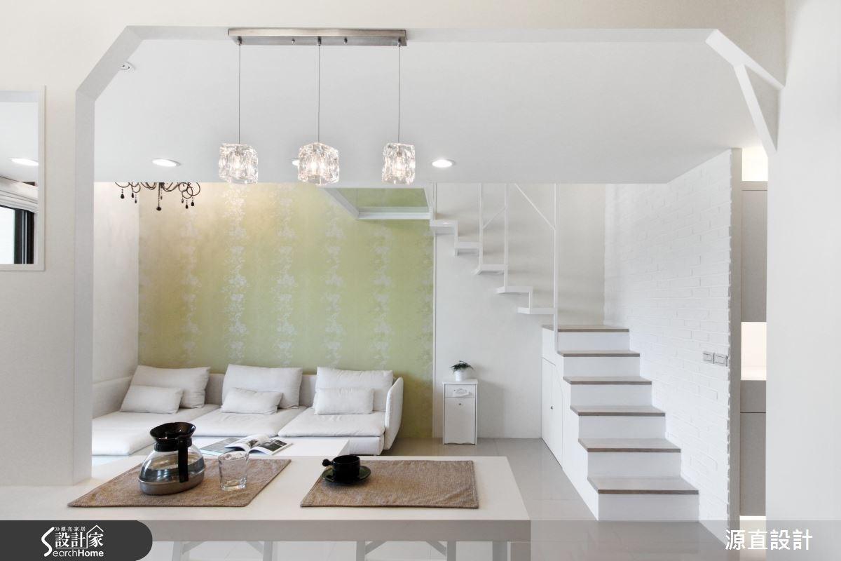照亮玻璃樹屋的想像!歡迎光臨 18 坪清爽樓中樓
