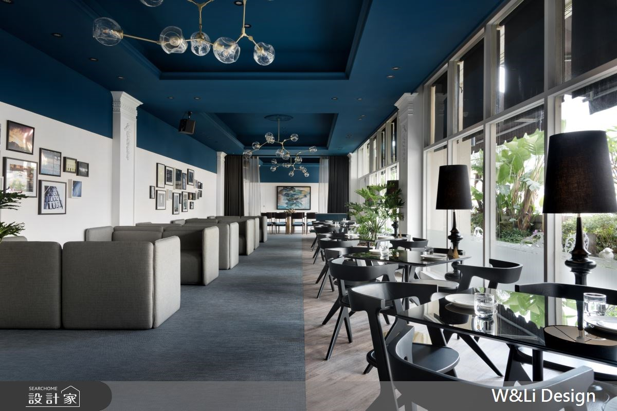 點一杯湖水藍的午後!混搭古典畫風的優雅咖啡廳