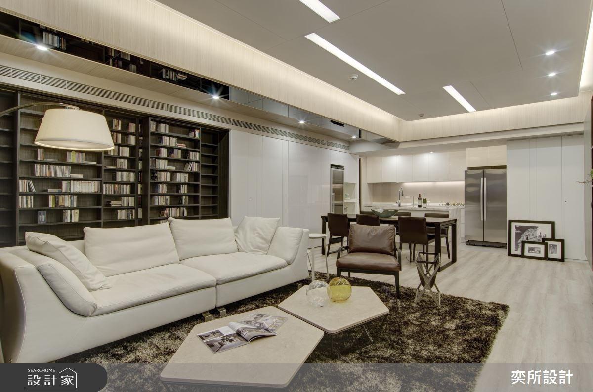 以小換大!27 坪也能坐擁媲美豪宅的大客廳