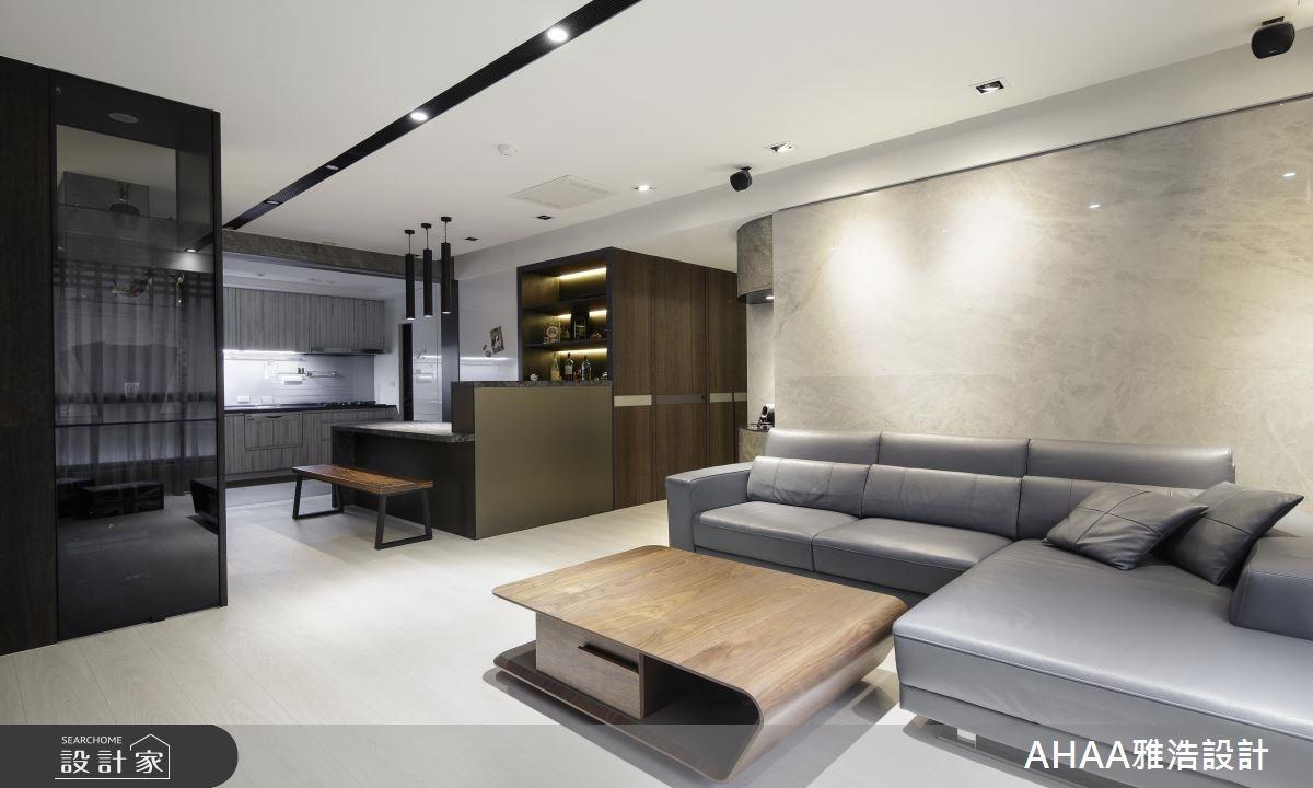 異材質 X 好風水!優雅現代宅的設計典範
