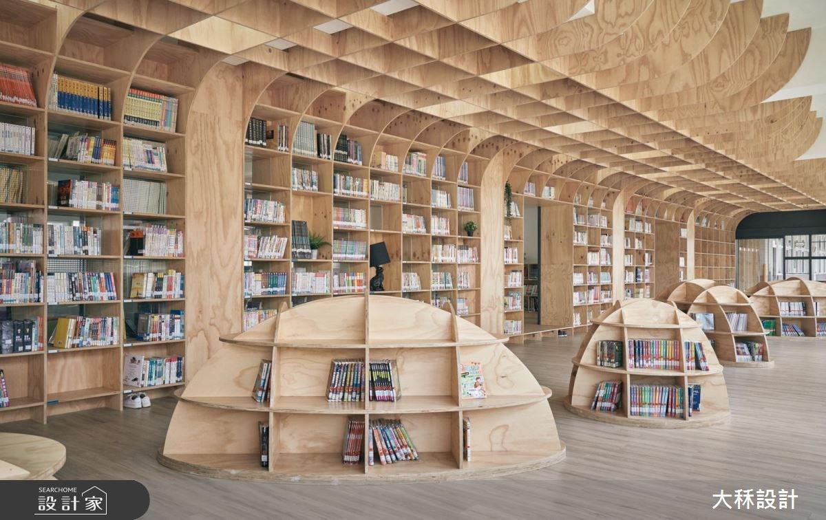 超好拍!看見台灣美,走訪台中最美的國小圖書館