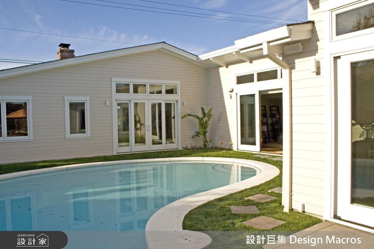 虛空間為主,居室為輔!老屋改造的美式風度假別墅