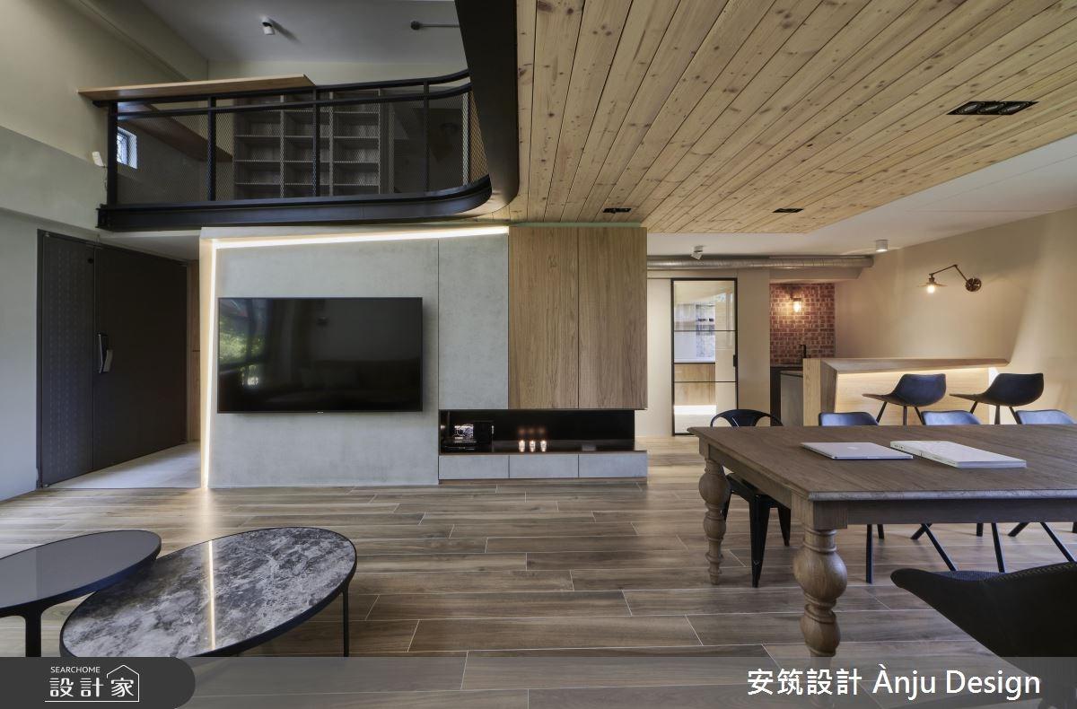 佛堂帶點工業風範!挑高透天別墅兼容莊嚴和休閒
