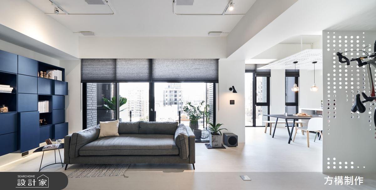 透明系減壓現代宅!每個空間都坐擁零死角光景