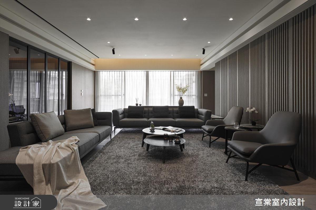 用臥室換客廳!大宅調整體質,重拾好採光、空間感