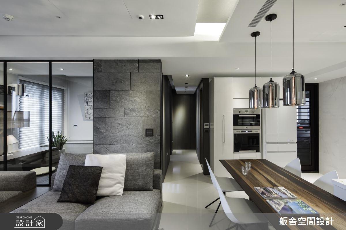 半開放設計打開現代宅視野,一家 4 口舒服入住!