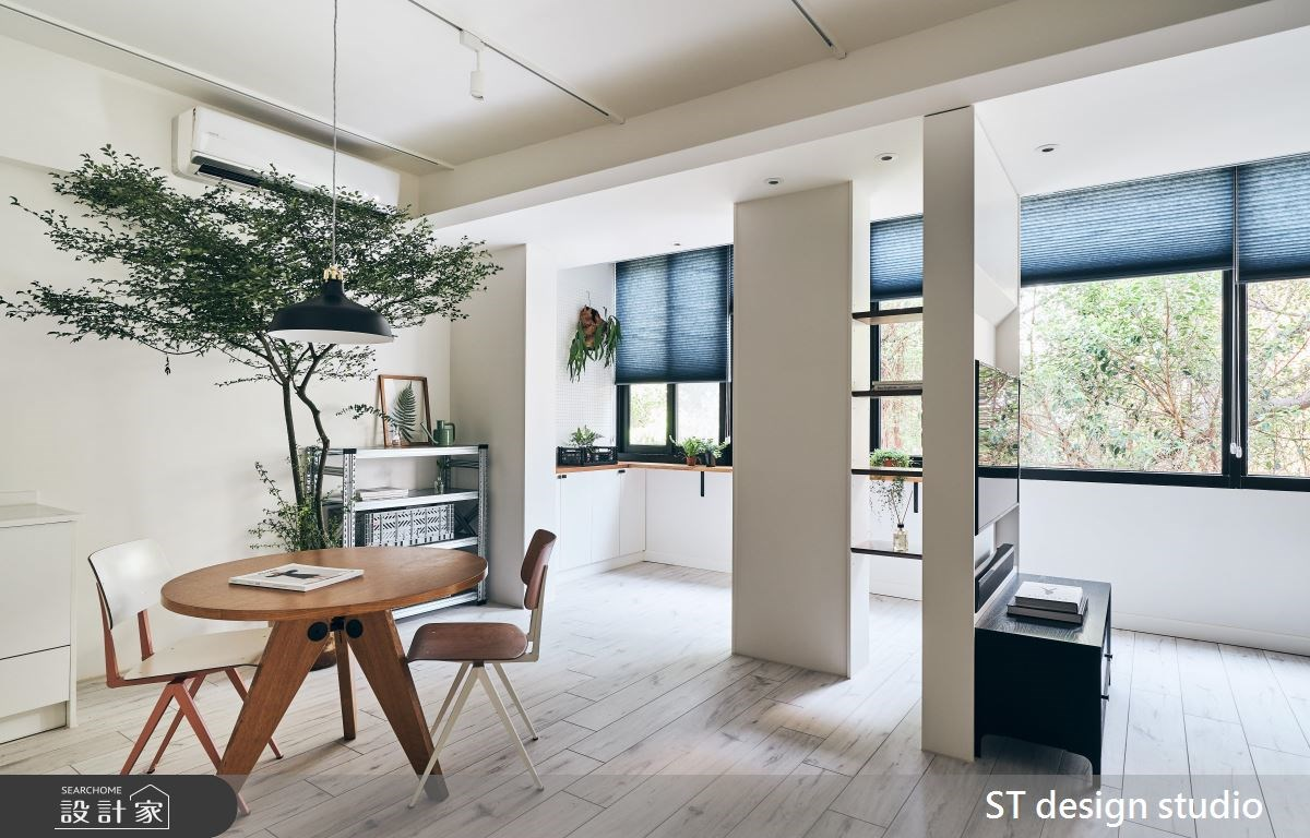 6:4 軟硬裝比例翻新老屋!打造陽光綠樹北歐公寓