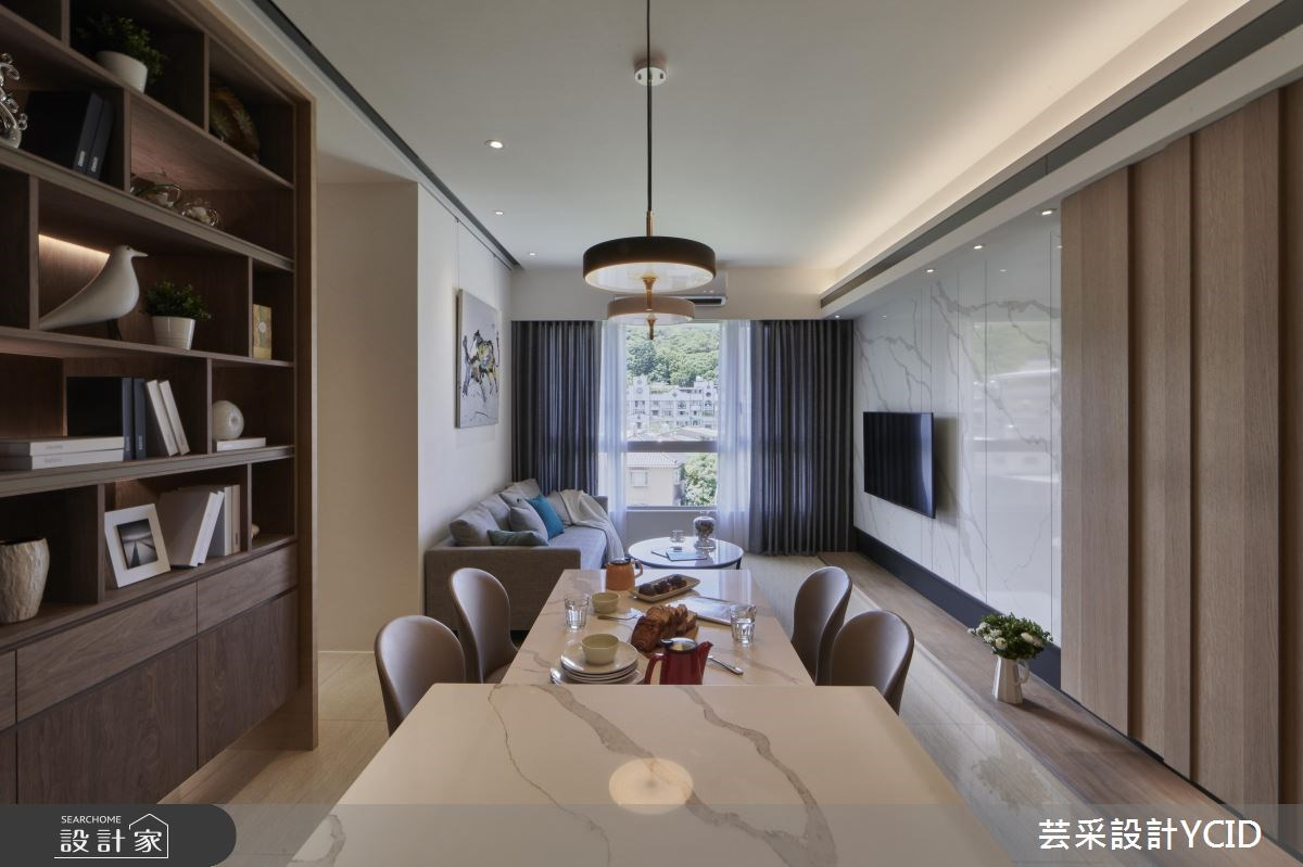 綠裝修好安心,機能隱無形,耐住實用簡約風好宅