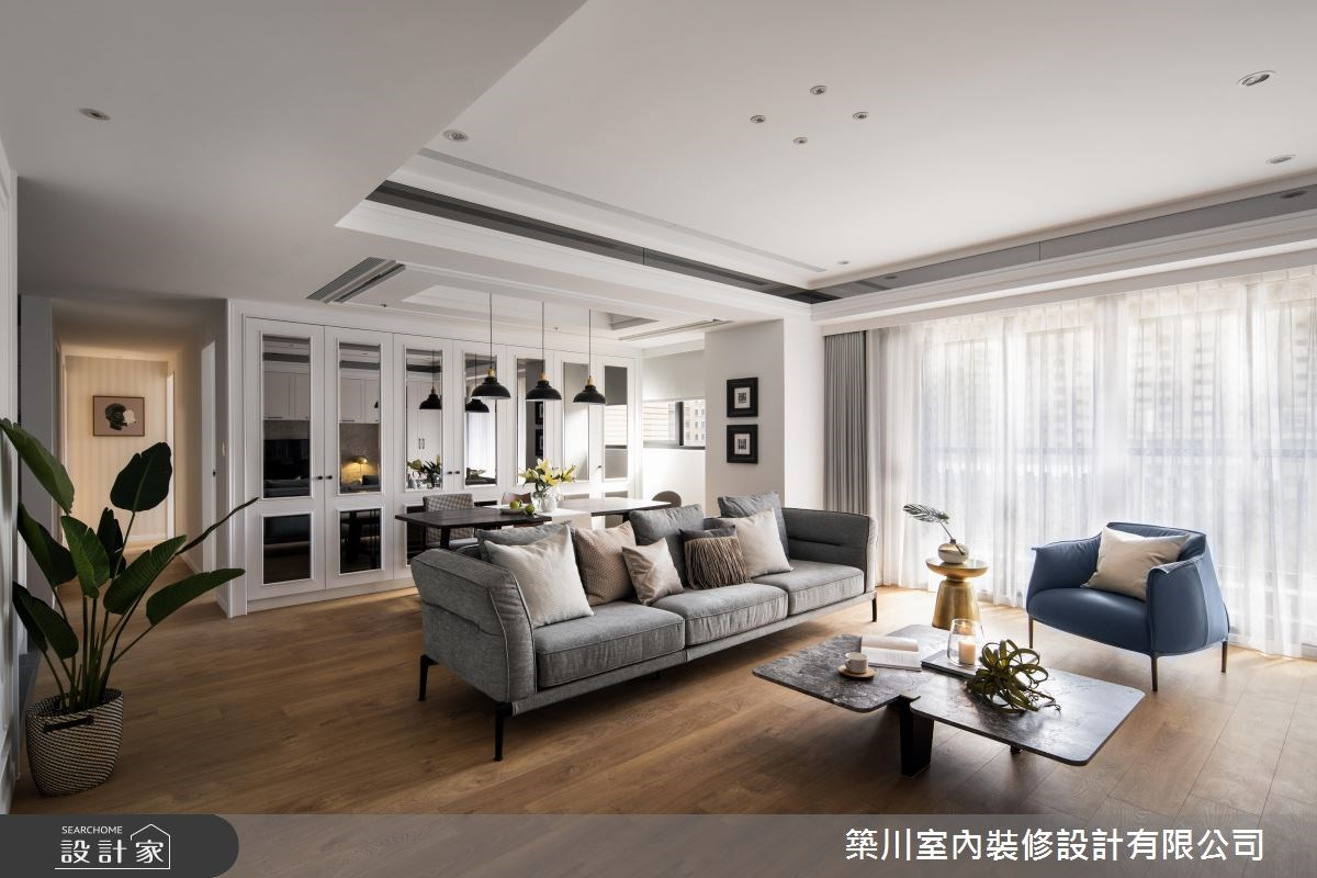 預約未來美好生活,現代新古典宅時髦登場