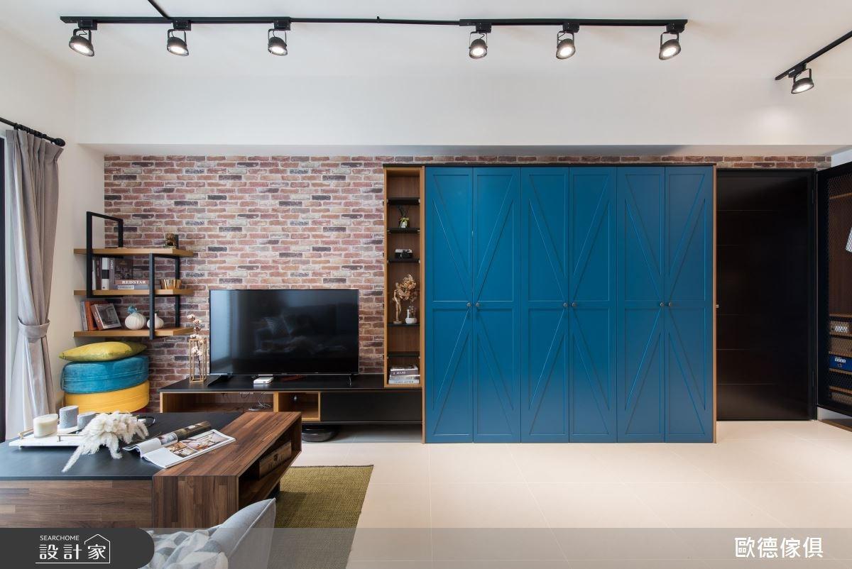 異質材混搭系統家具,帶來機能宅個性新氣象!