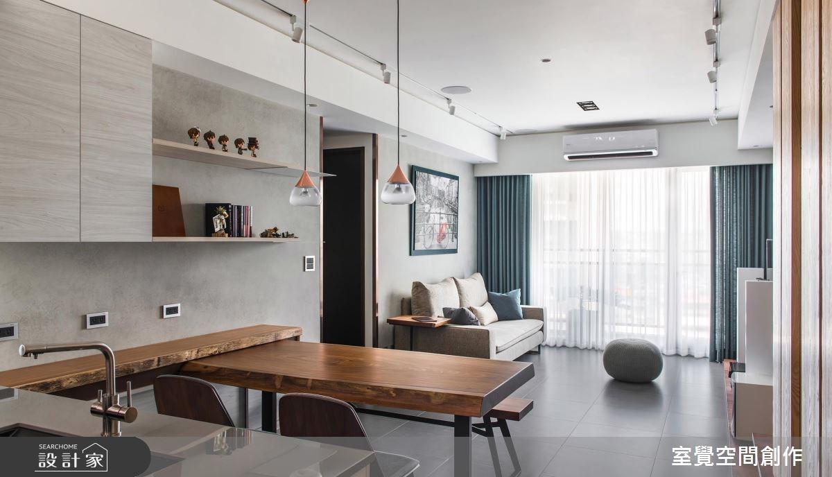 兩個人的自然感小豪宅!質樸與細緻的完美搭配