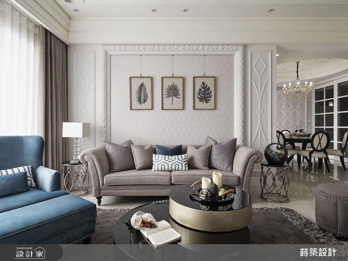新古典大客廳的有效利用!賦予一家六口安穩的睡眠環境