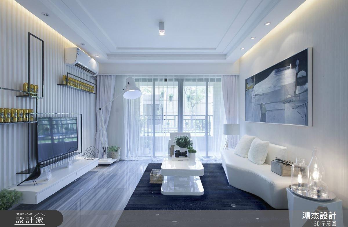 美到屏息的純淨光感!為你揭開後現代大宅的純白面紗