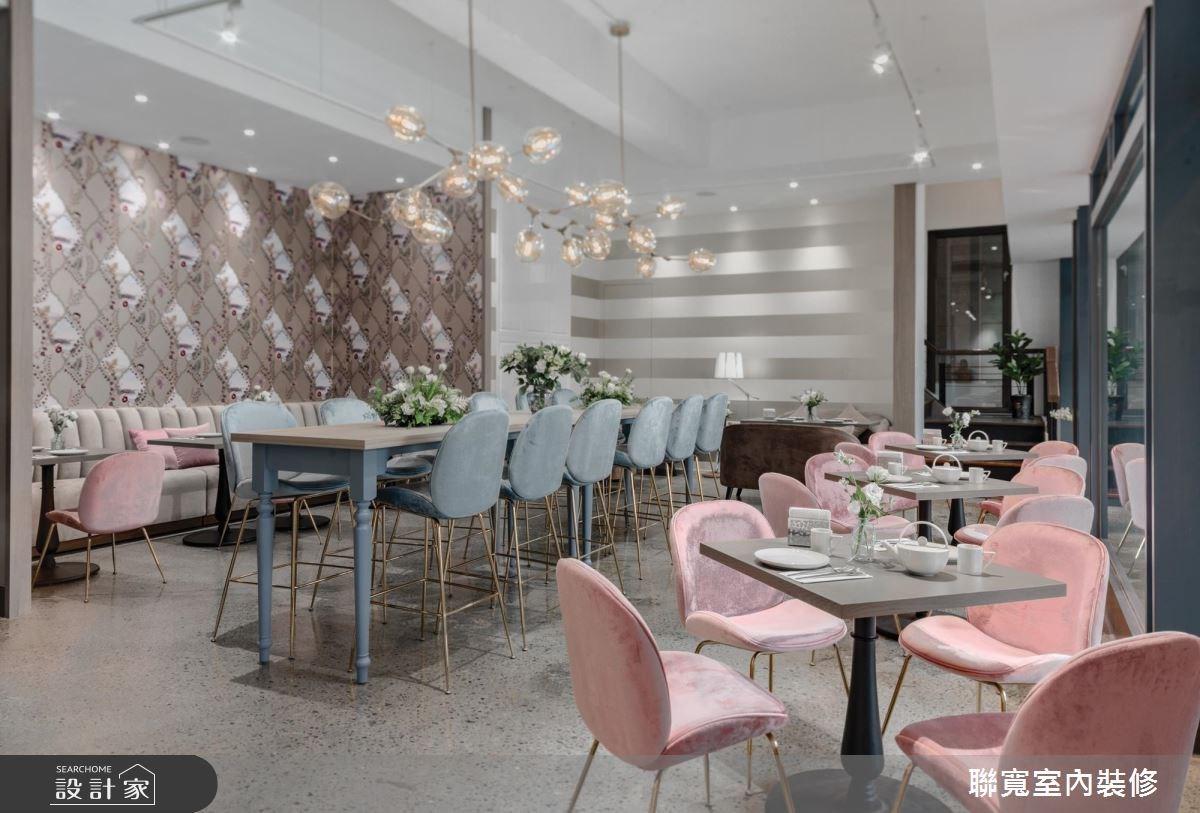 壁紙玩味空間視野!早午餐的粉色視覺饗宴