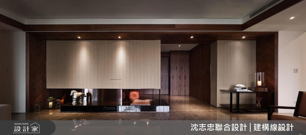現代設計混搭東方元素!百坪豪邸飄出沉穩韻味