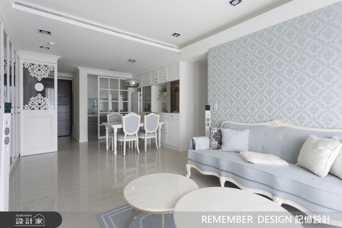 28 坪法式古典宅!為單身女屋主締造專屬浪漫記憶
