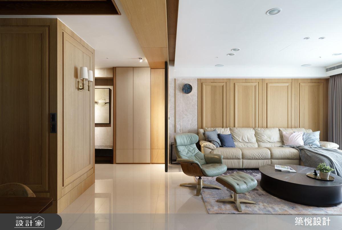 美式線板X日式格柵!多元混搭的美型木質居家