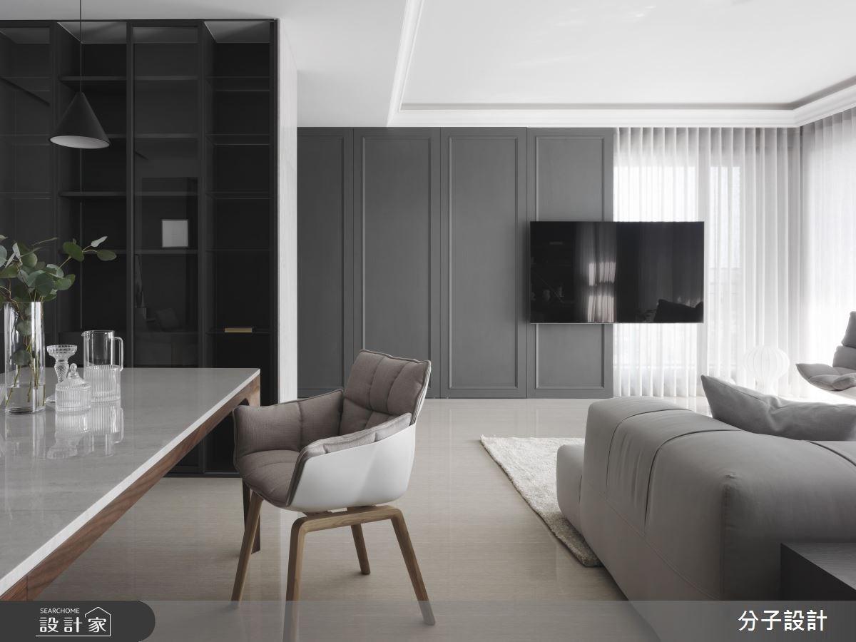 都市人最嚮往的簡約!純淨通透的40坪時尚現代宅