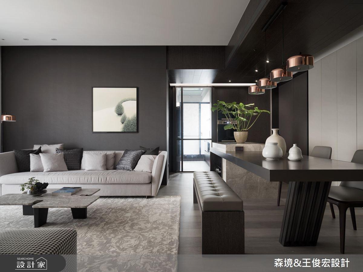 樸質現代宅 3 房變 2 房!感情加溫,坪效倍增!